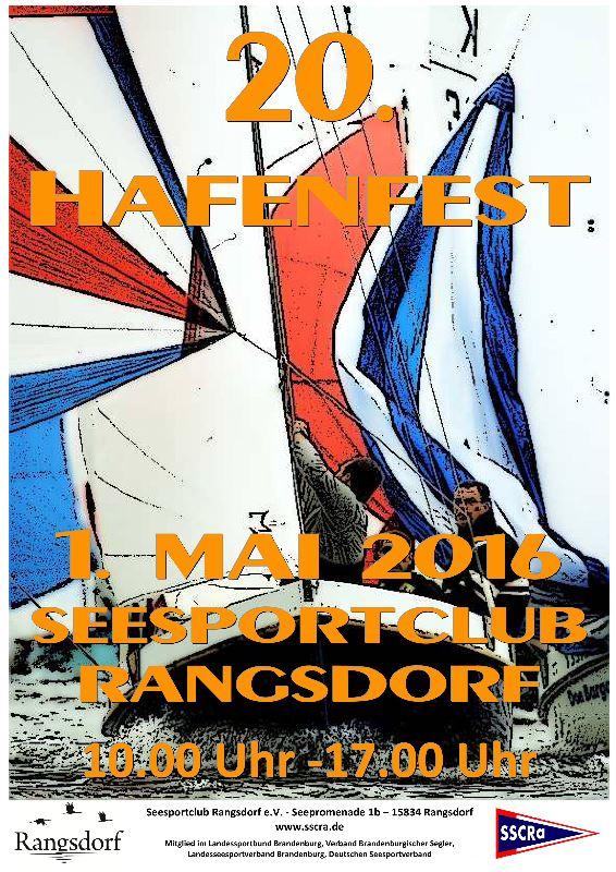 Plakat Hafenfest 2016